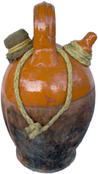 Traditional spanish Drinking jug (Botijo)