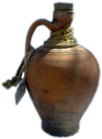 Pitcher with cork stopper (Cántara)