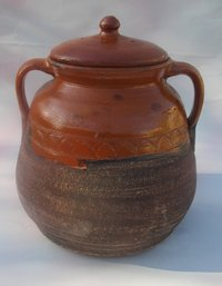 Pottery pot to cook. 32 x 26 cm. 7 litres