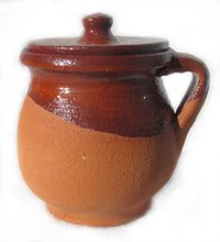 Little Pottery Pot. 13cm x 11cm
