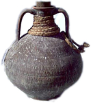 Amphora with cork stopper