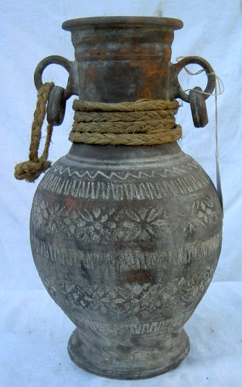 Amphora with two hoop handles