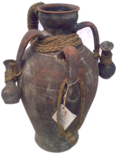 Amphora with smaller amphoras