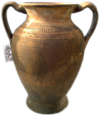 Amphora with two handles