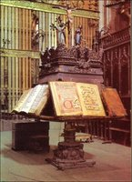 The lectern. History