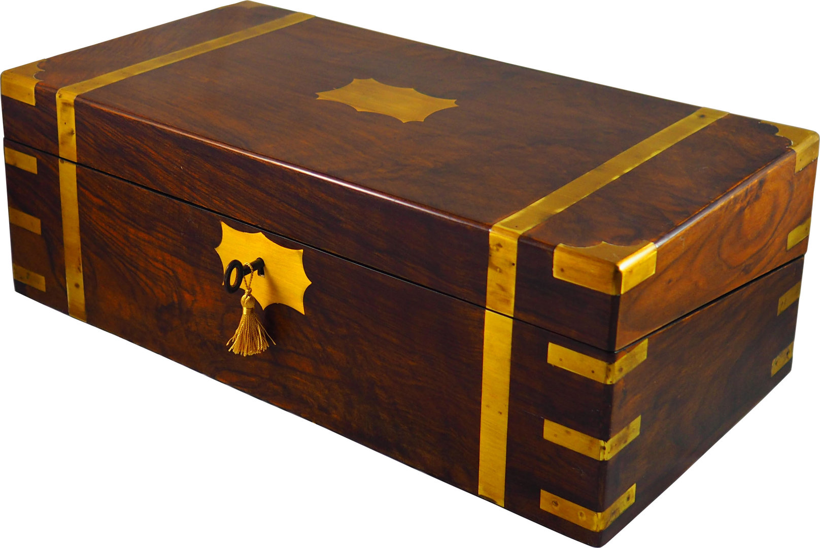 Campaign rosewood writing box