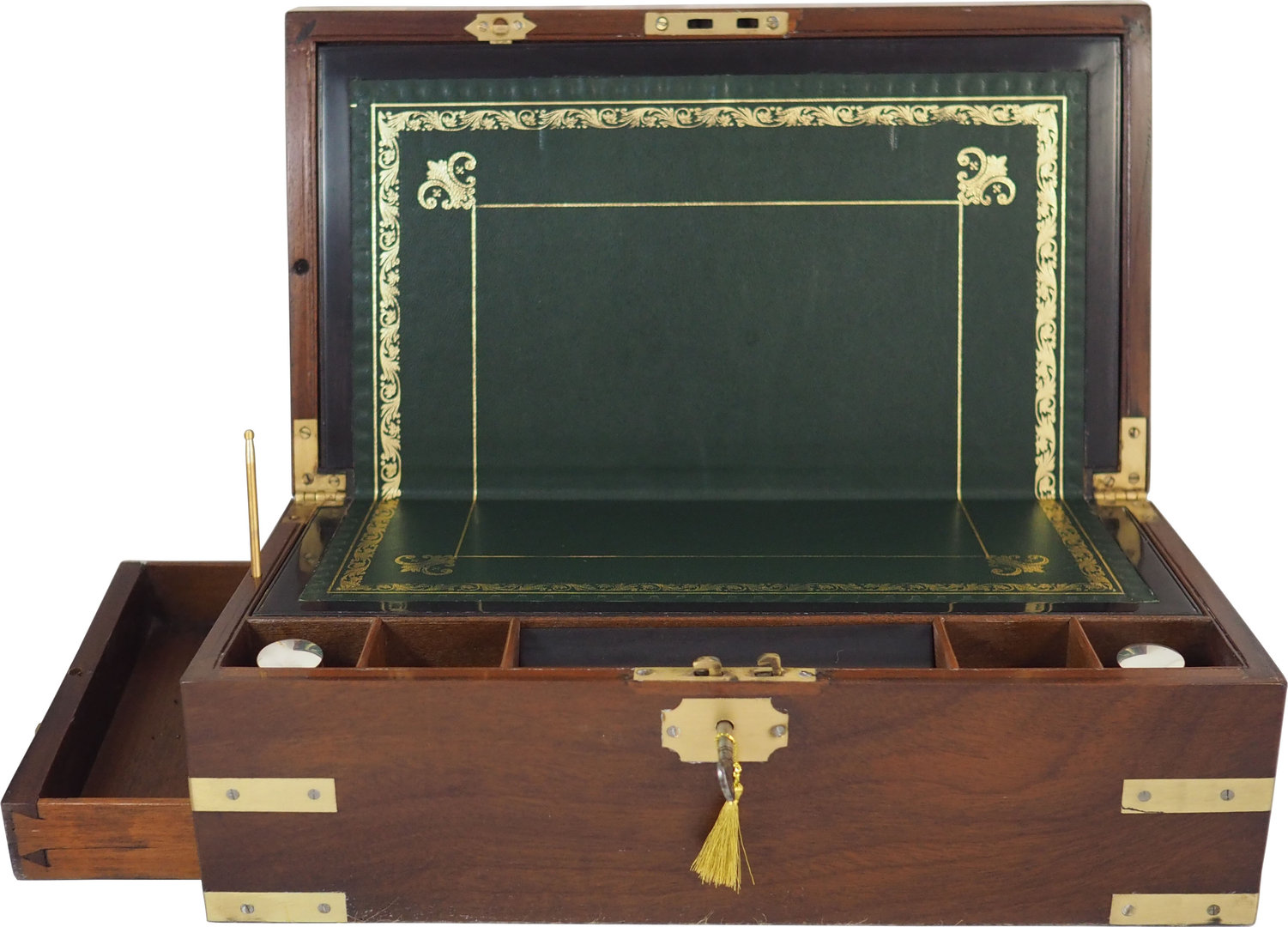 Georgian Campaign writing box. Circa 1810