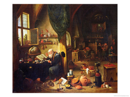 David Teniers the Younger. An alchemist in his workshop\\n\\n01/11/2011 00:03