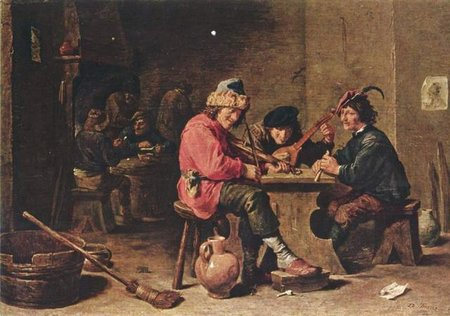 David Teniers the Younger. Three Peasants playing music\\n\\n01/11/2011 00:03