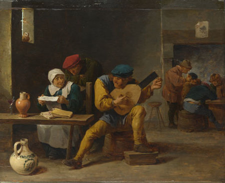 David Teniers the younger. teniers-peasants-making-music-inn-NG154-fm\\n\\n01/11/2011 00:03
