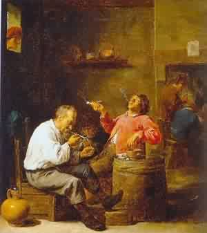 David teniers the younger. Smokers in an interior\\n\\n01/11/2011 00:03